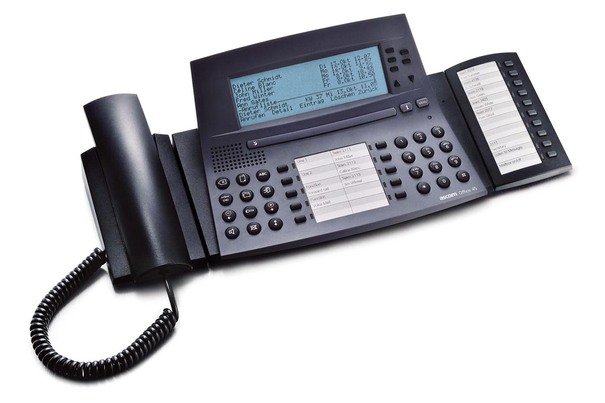 Vollansicht - Aastra Office 45 Pro Systemtelefon