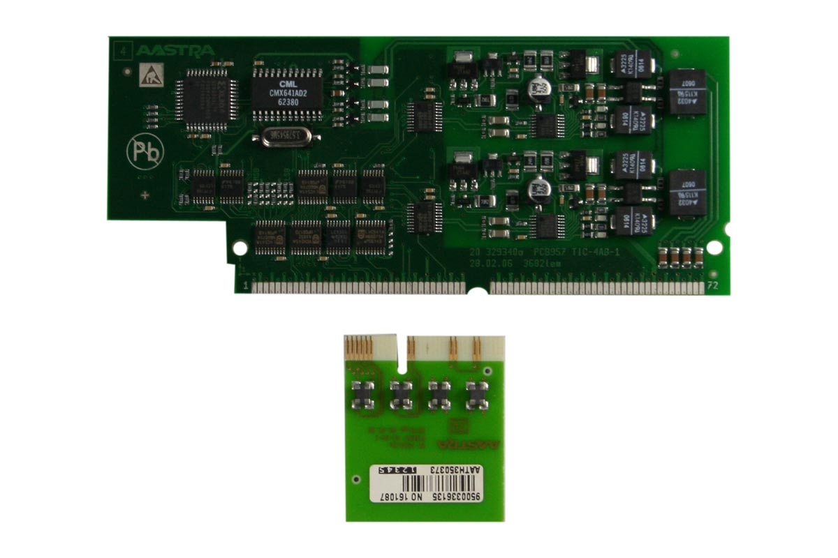 Vollansicht - Aastra IntelliGate A150/300 Modul TIC-2AB-1