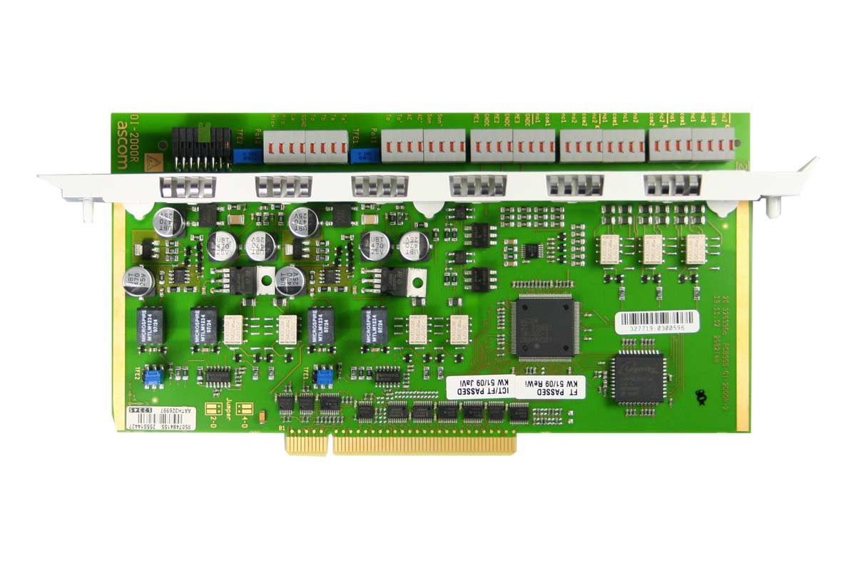 Vollansicht - Aastra IntelliGate 20x5 Modul OI-2DOOR (I/O)