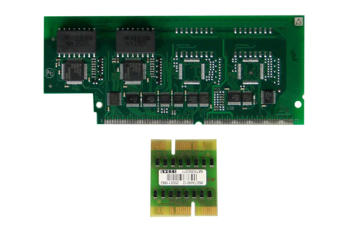 Vollansicht - Aastra IntelliGate A150/300 Modul TIC-2TS