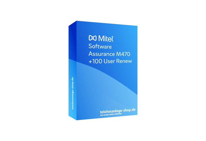 Produktbild - Mitel Software Assurance M470 +100User Renew