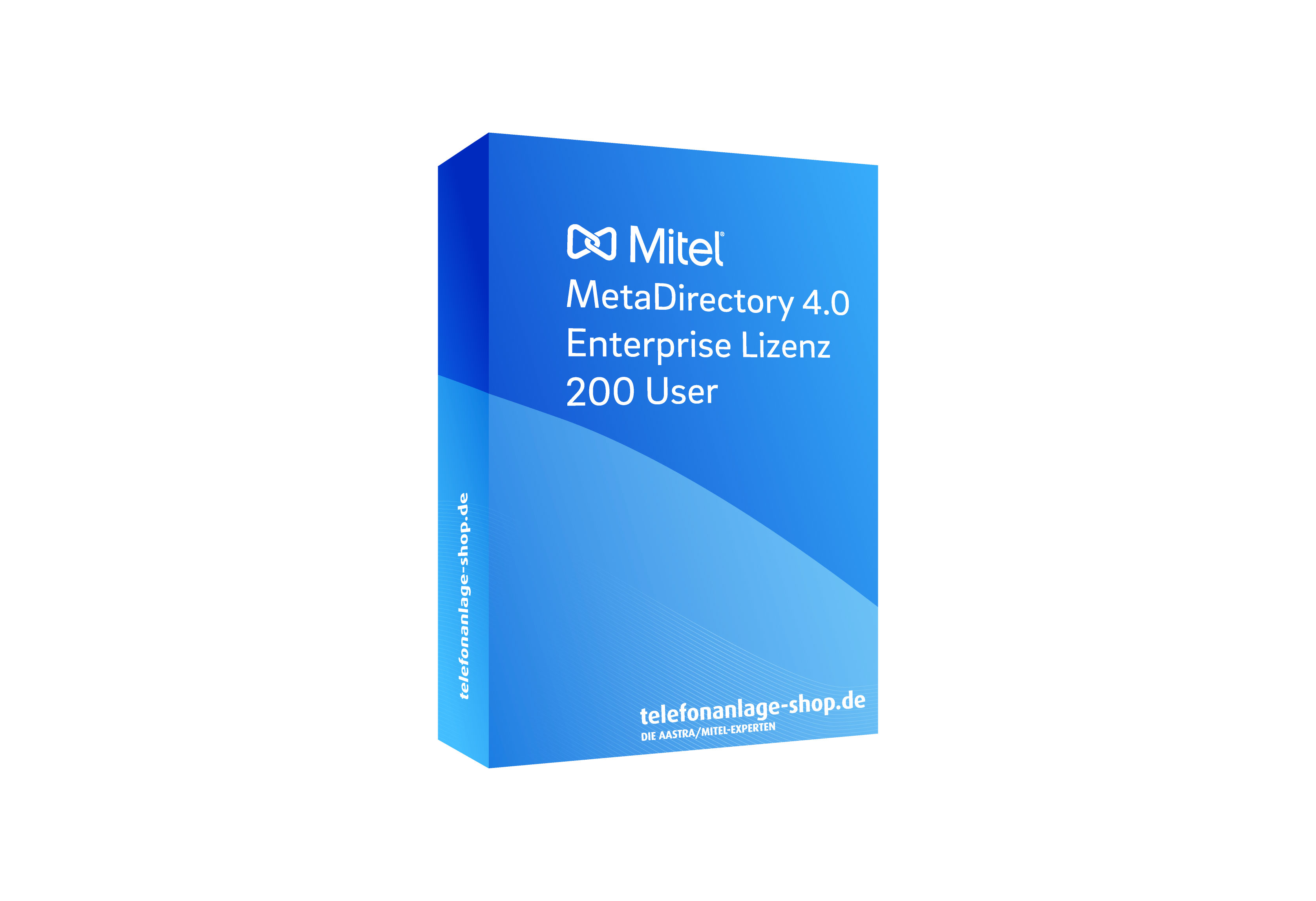 Produktbild - Mitel MetaDirectory 4.0 Enterprise Lizenz 200 User