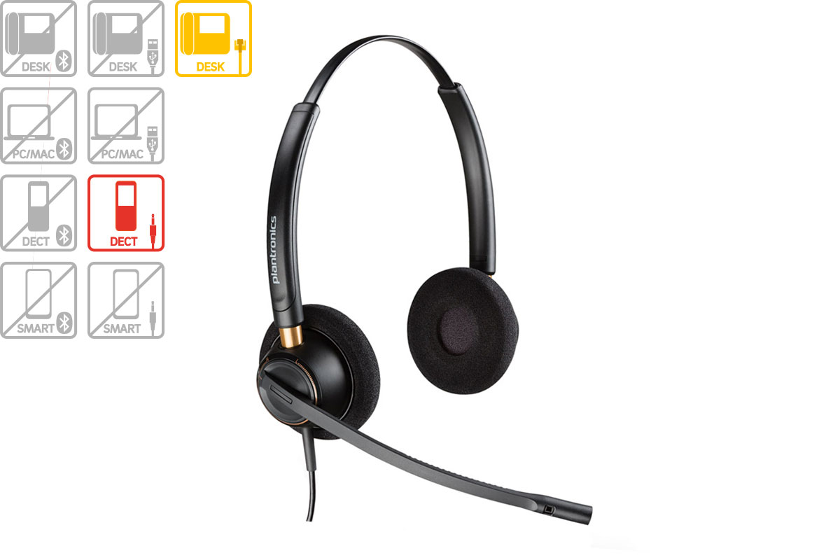 Vollansicht - Plantronics EncorePro HW520