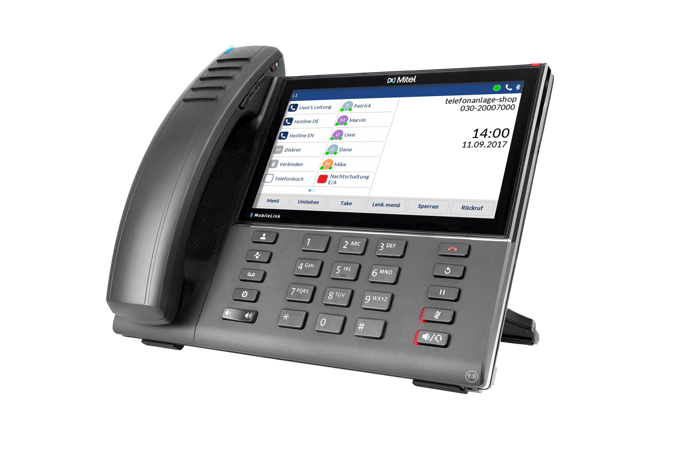 Vollansicht - Mitel 6940 IP Phone