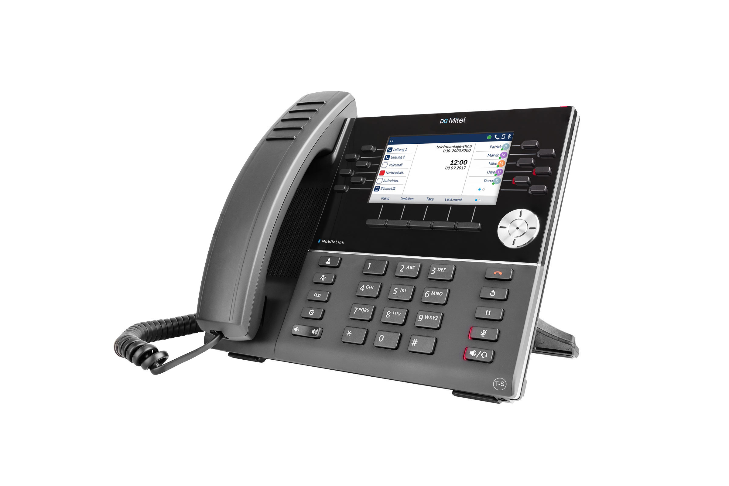 Vollansicht - Mitel 6930 IP Phone