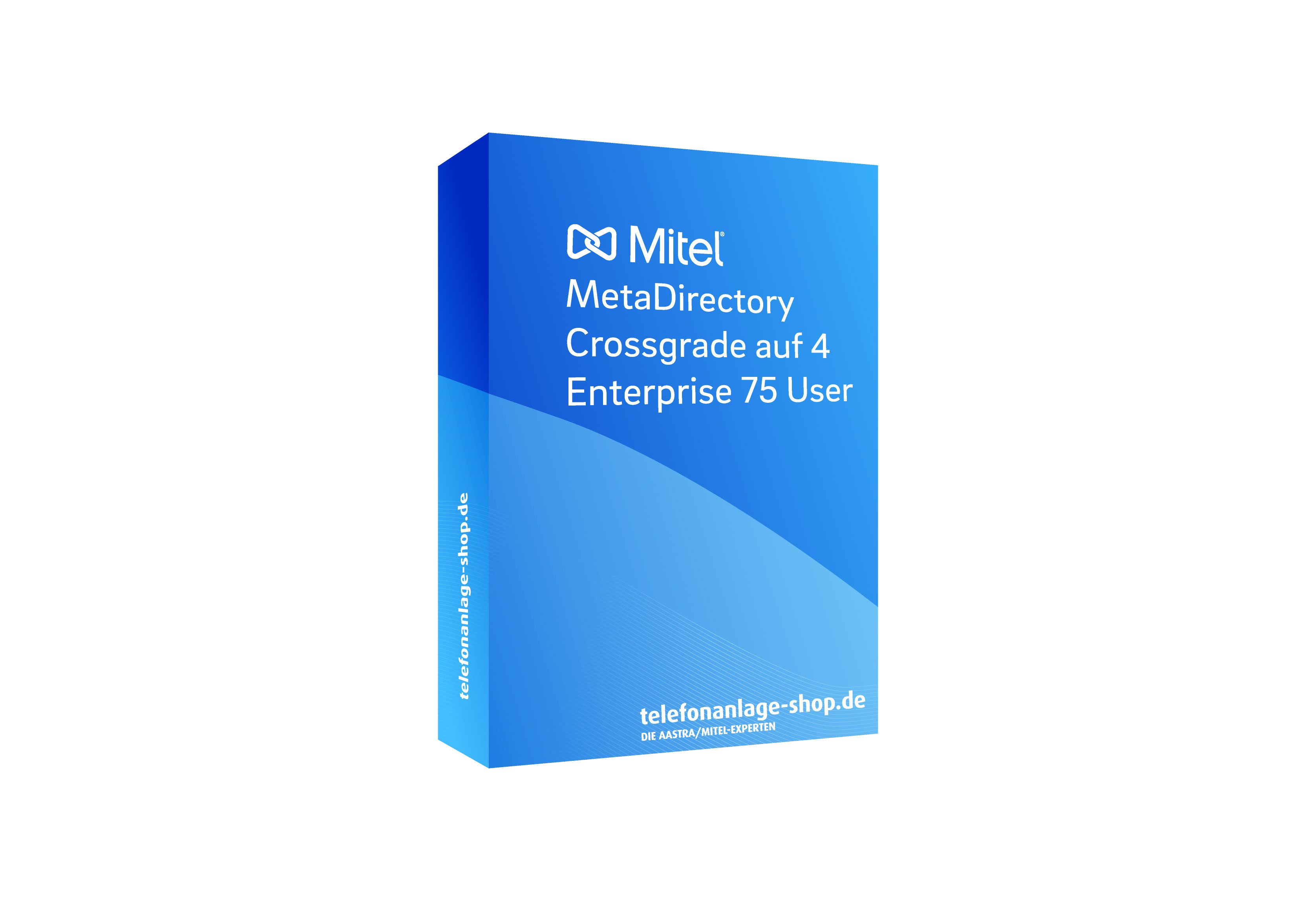 Produktbild - Mitel MetaDirectory Crossgrade auf 4 Enterprise 75 User