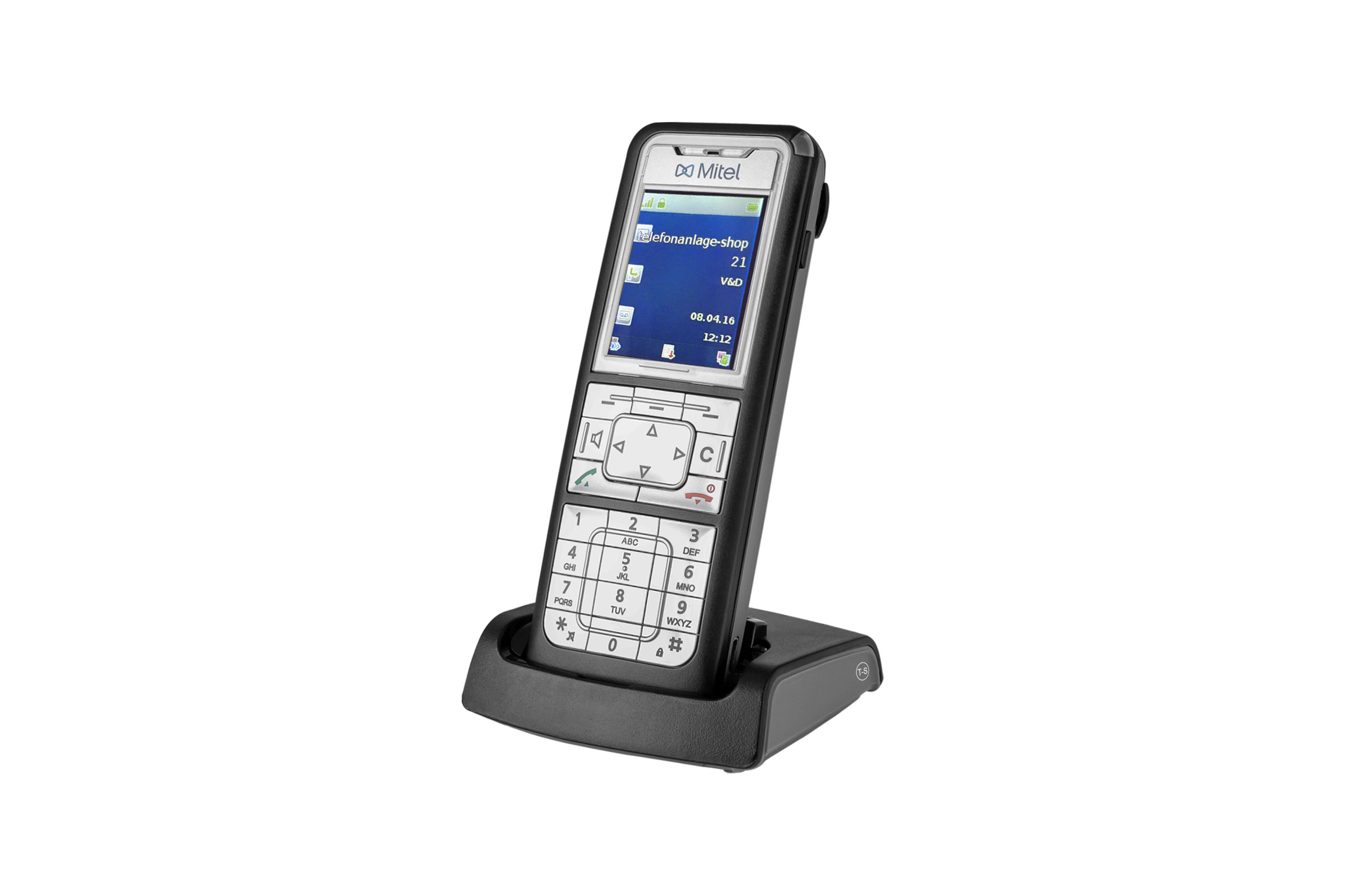 Vollansicht - Mitel 622 DECT Phone - Set mit Ladeschale (Aastra 622d)
