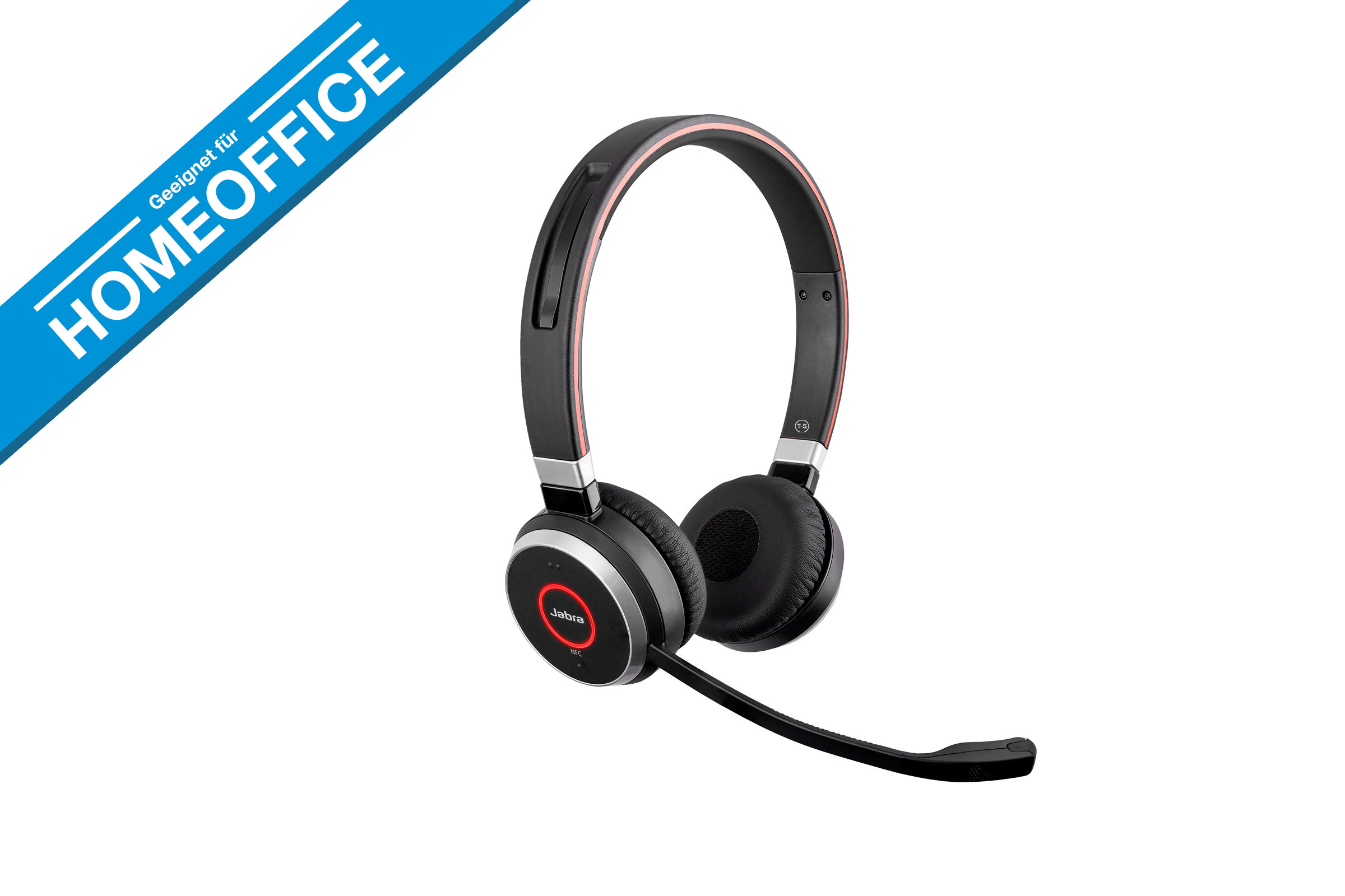 Vollansicht - Jabra Evolve 65 Duo