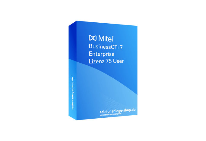 Produktbild - Mitel BusinessCTI 7 Enterprise Lizenz 75 User