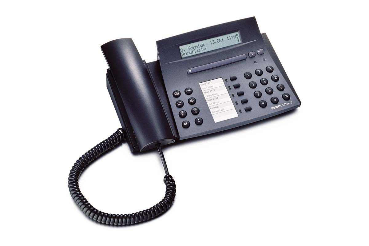 Vollansicht - Aastra Office 35 Systemtelefon